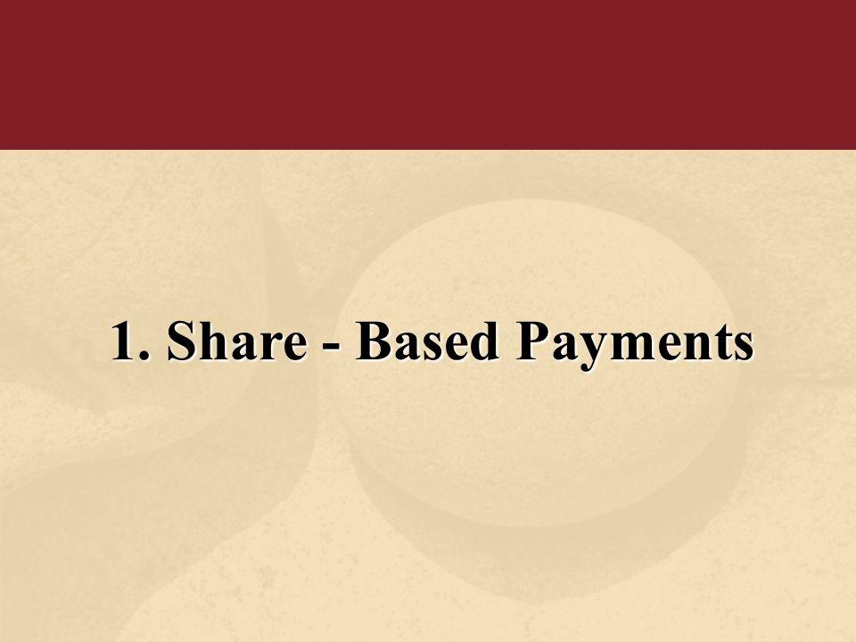1. FAS 123R (amendment of FAS 123 + FAS 95) 2. deutliche Annäherung an IFRS 2