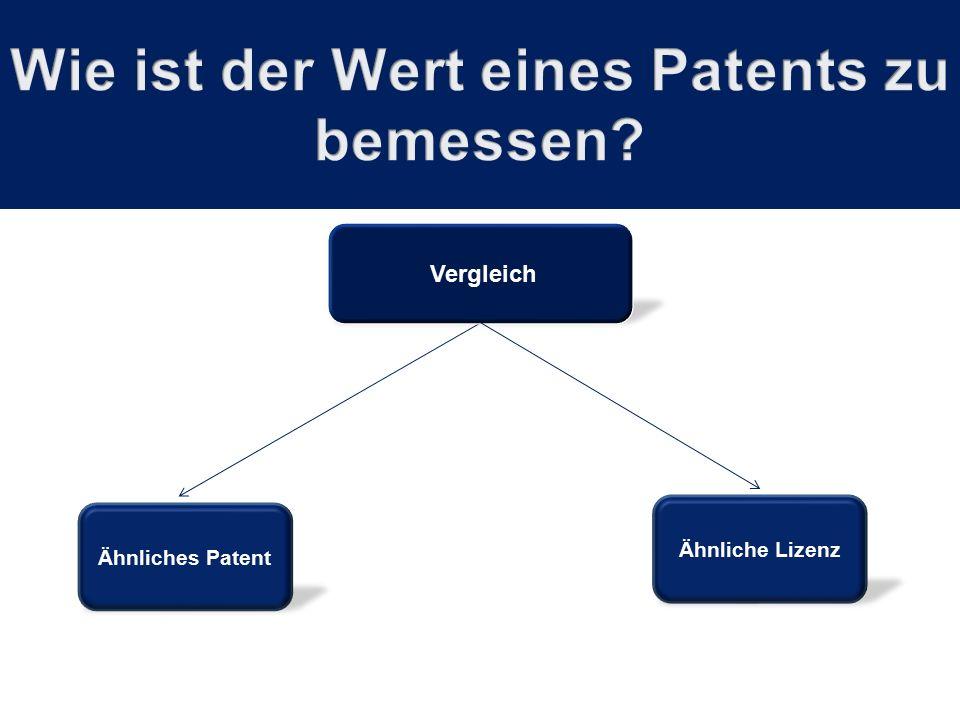 Ähnliches Patent Vergleich Ähnliche Lizenz