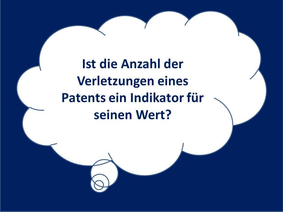 Ist die Anzahl der Verletzungen eines Patents ein Indikator für seinen Wert
