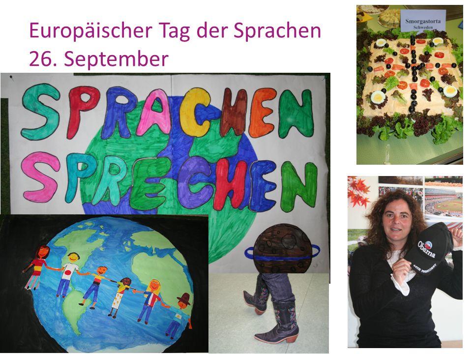 Europäischer Tag der Sprachen 26. September