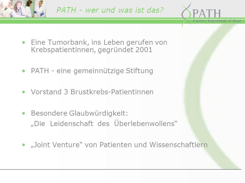 Vorstand: Carmen Waldner, Doris C.Schmitt, Ulla Ohlms Vorsitzender des Kuratoriums: Dr.