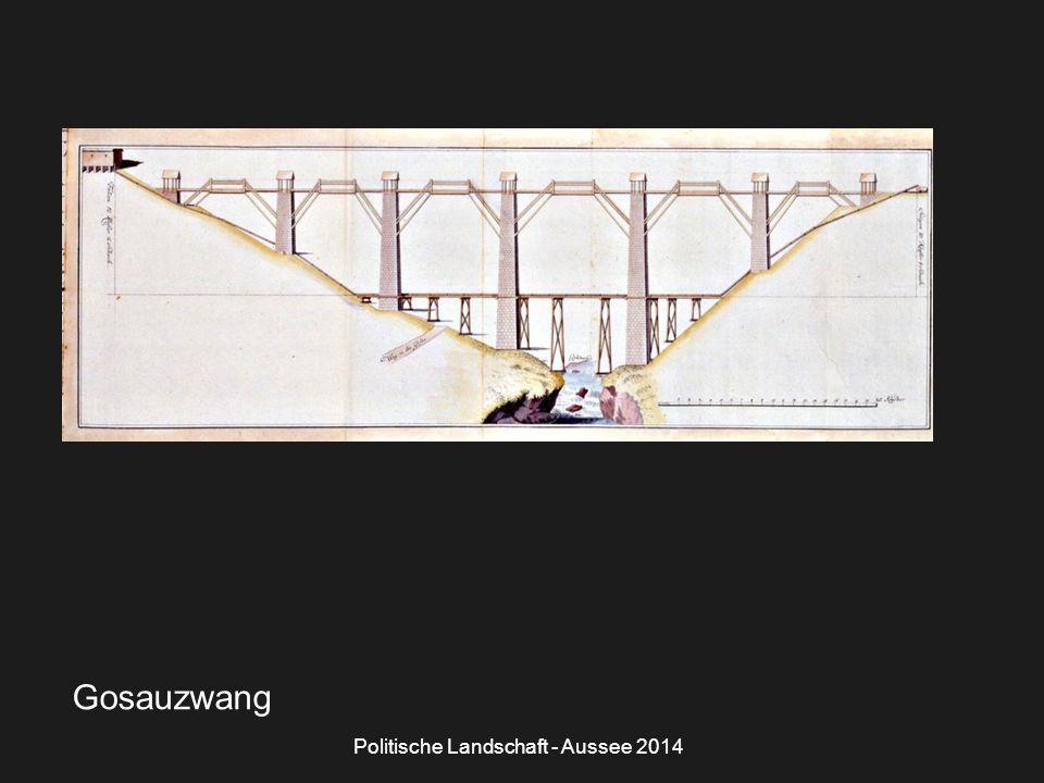 Politische Landschaft - Aussee 2014 Gosauzwang