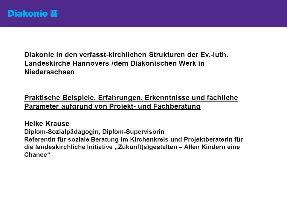 Diakonie in den verfasst-kirchlichen Strukturen der Ev.-luth.