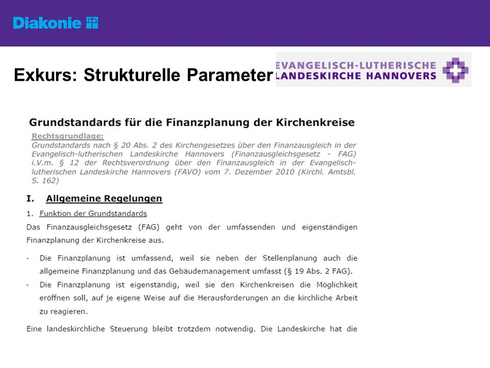 Exkurs: Strukturelle Parameter