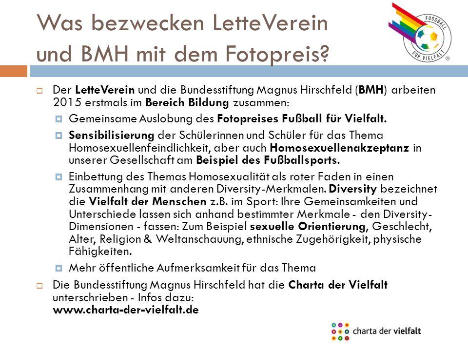 Was bezwecken LetteVerein und BMH mit dem Fotopreis.