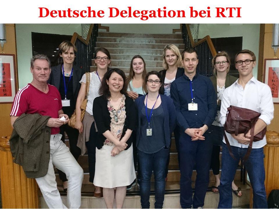 Deutsche Delegation bei RTI