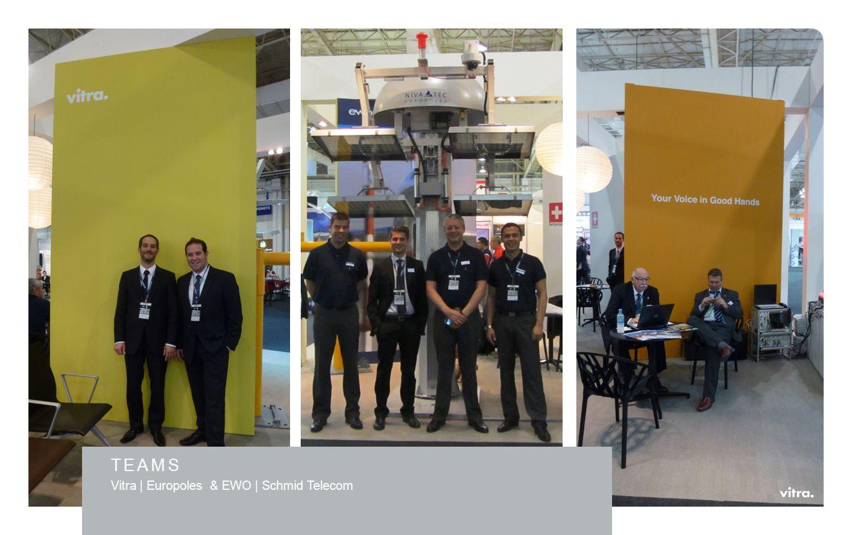 TEAMS Vitra | Europoles & EWO | Schmid Telecom