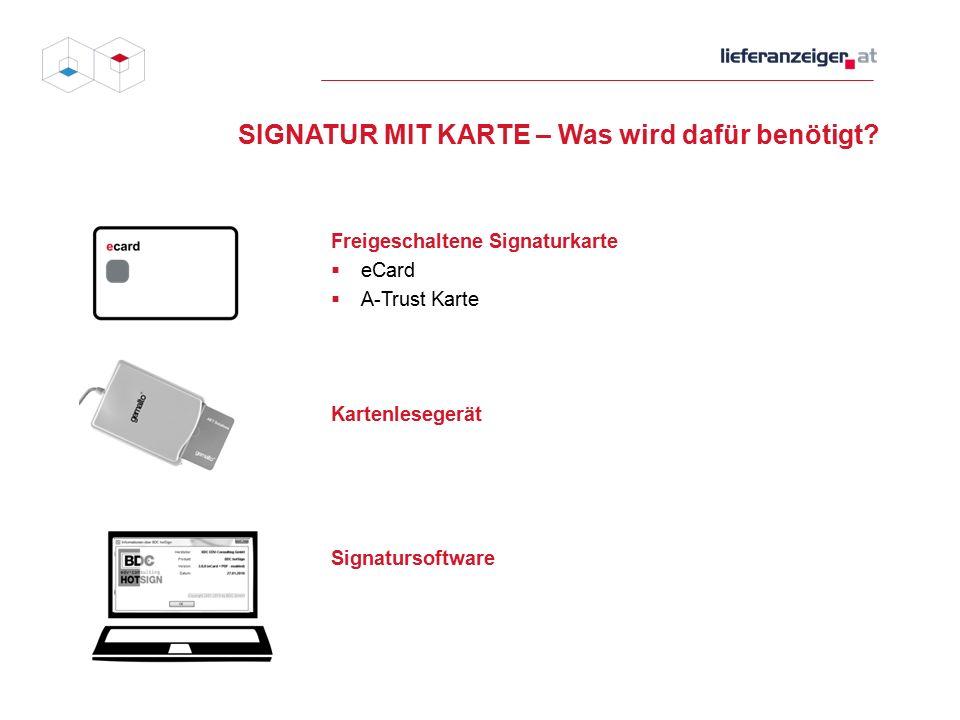 Was wird auf meiner Karte gespeichert Verschlüsselungszertifikat Signaturzertifikat Stammzahl des ZMR