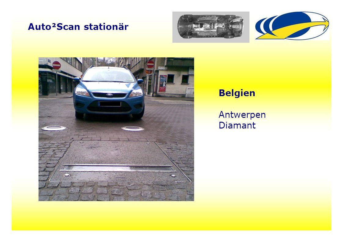 19 Auto²Scan stationär Belgien Antwerpen Diamant