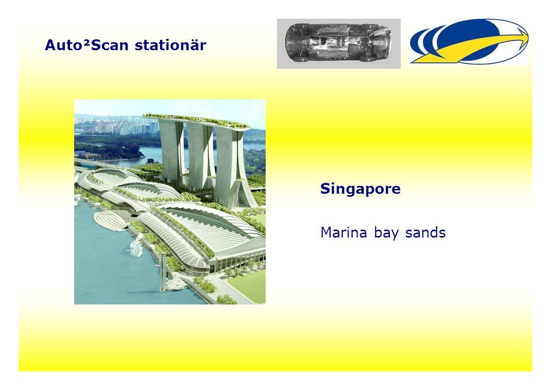 26 Auto²Scan stationär Singapore Marina bay sands