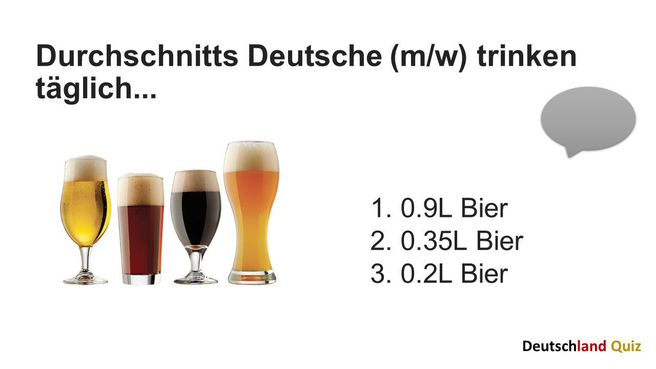 Die/ der Durchschnitts Deutsche heiratet mit 1.29/32 Jahren 2.