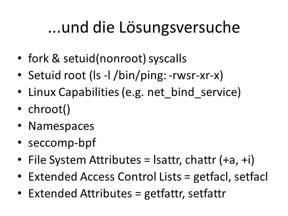 SELinux lernen Beste SELinux-Videos wo gibt: – Demystifying SELinux Part II: Whos Policy Is It Anyway.