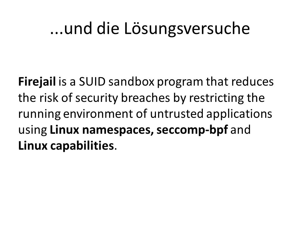 SELinux: Wie es funktioniert Linux Security Modules (LSM), Kernel 2.6 Mandatory Access Control (MAC) Extended Attributes!