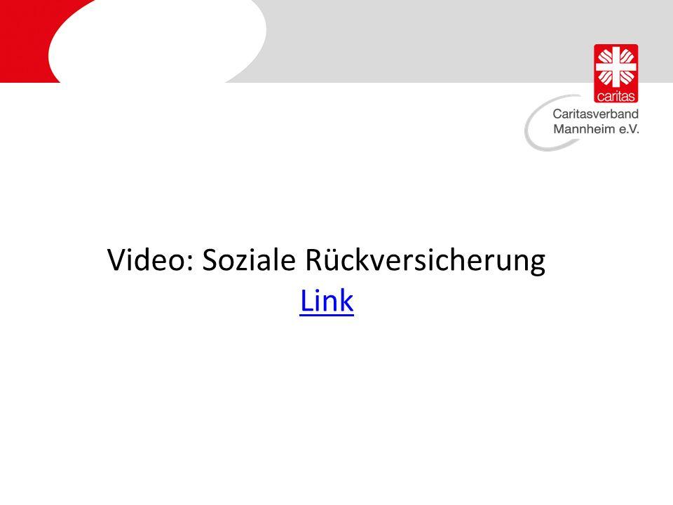 Video: Soziale Rückversicherung Link Link