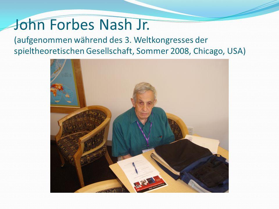 John Forbes Nash Jr. (aufgenommen während des 3.