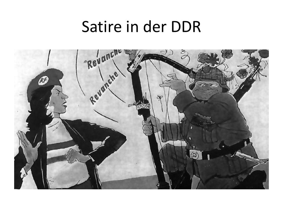 Satire in der DDR