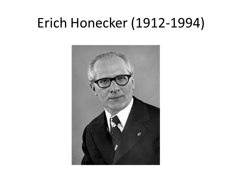 Erich Honecker (1912-1994)