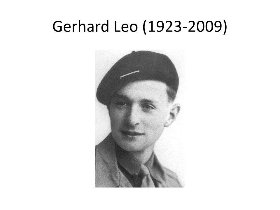 Gerhard Leo (1923-2009)