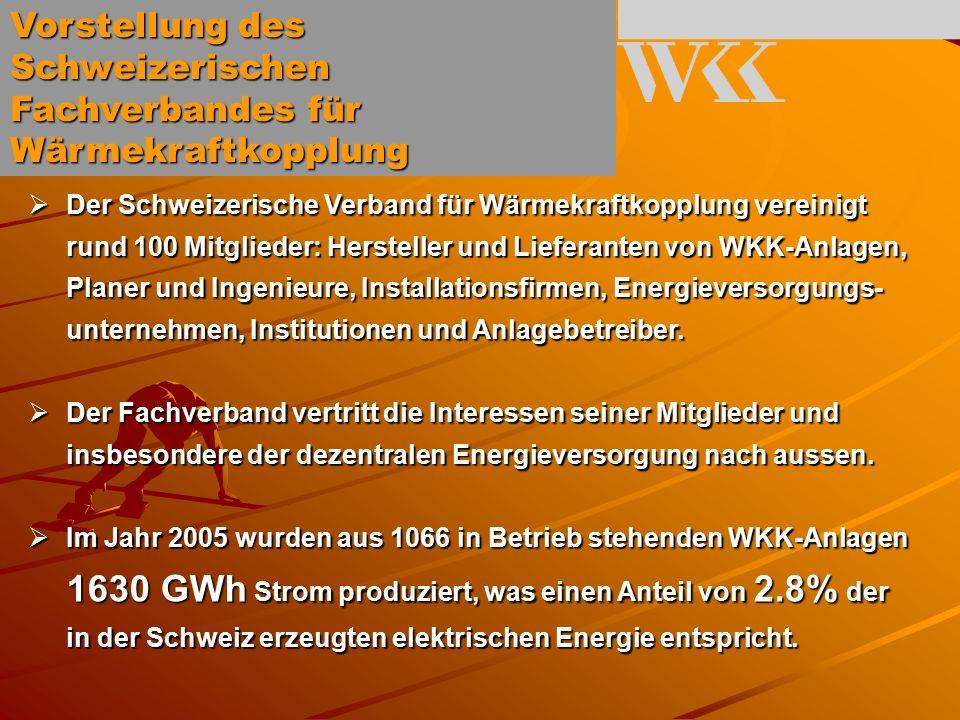 Anregung des WKK- Fachverbandes an die UREK-N Die Verwaltung ist aufzufordern, im Rahmen der nun anstehenden Revision der Verordnung zur CO2-Abgabe folgende Lösung zu treffen: Prinzip: In WKK-Anlagen verwendete Brennstoffe unterstehen der CO 2 -Abgabe (nur), soweit sie für die Wärmeproduktion eingesetzt werden.
