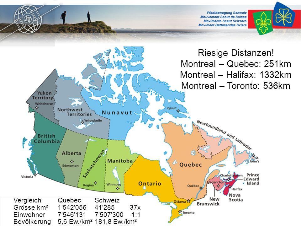 Land in Kürze Kanada ist mit einer Fläche von 9.984.670 Quadratkilometern nach Russland das zweitgrößte Land der Erde und fast so groß wie Europa.