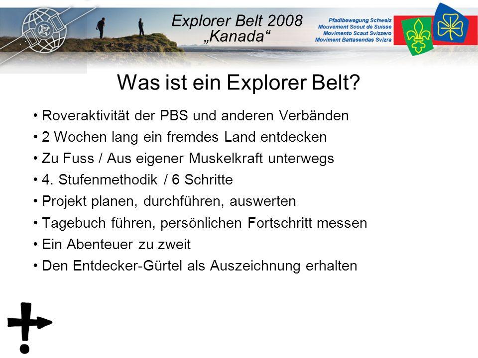 Was ist ein Explorer Belt.