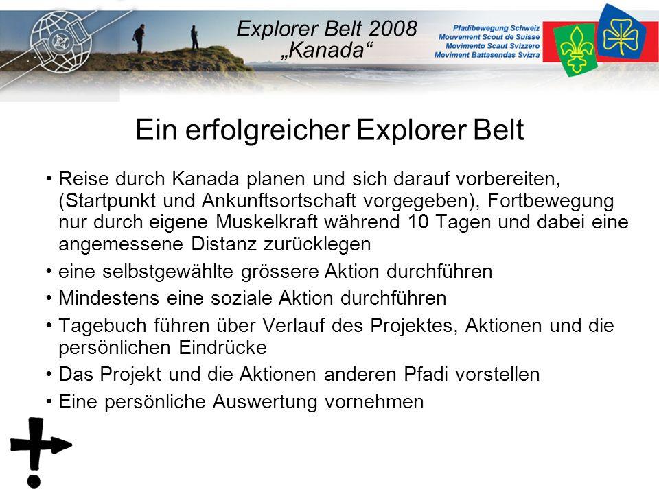 4.Stufenmethodik Der Explorer Belt soll gemäss der 4.