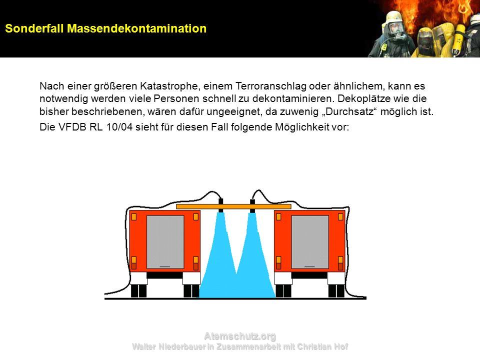 Atemschutz.org Walter Niederbauer in Zusammenarbeit mit Christian Hof Nach einer größeren Katastrophe, einem Terroranschlag oder ähnlichem, kann es no
