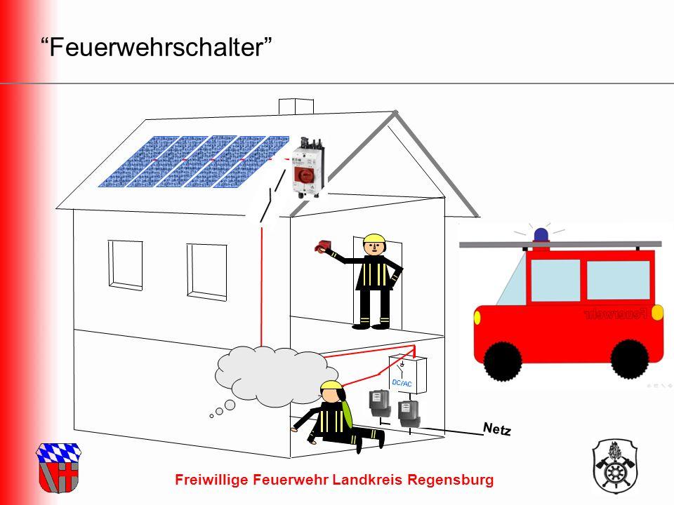 Freiwillige Feuerwehr Landkreis Regensburg Feuerwehrschalter Netz