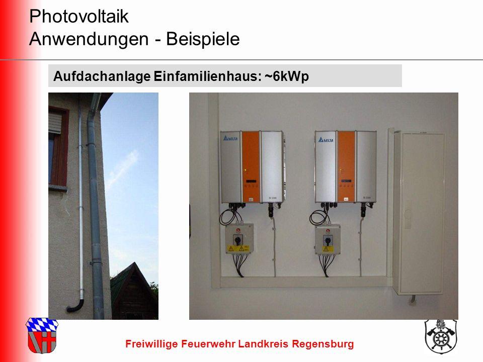 Freiwillige Feuerwehr Landkreis Regensburg Freischaltversuch durch Abdecken Versuche der BF Hamburg Abdecken mit Folien Fazit: Ein Abdecken der Module auf Dächern mit Folie ist nicht praktikabel bzw.