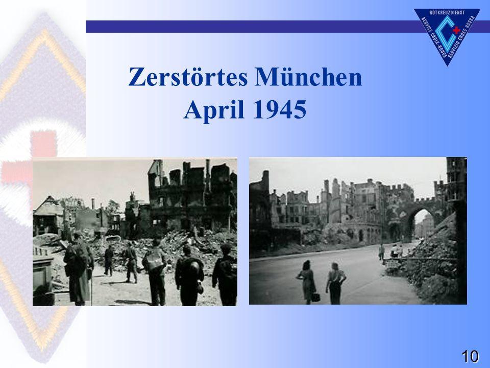 10 Zerstörtes München April 1945