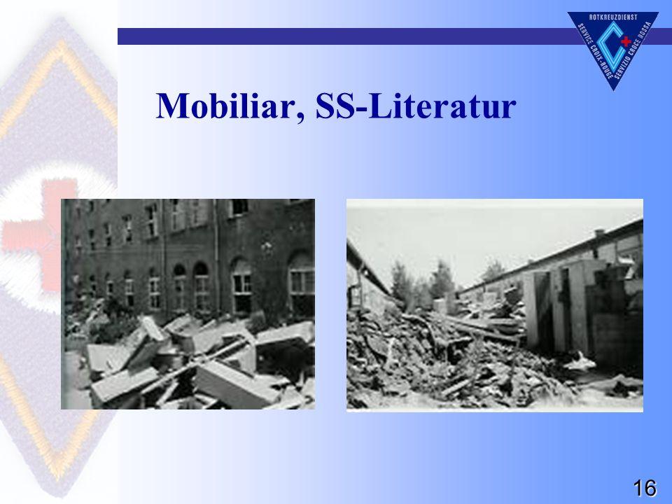 16 Mobiliar, SS-Literatur