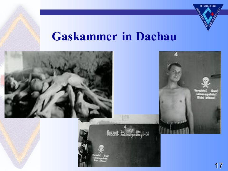 17 Gaskammer in Dachau