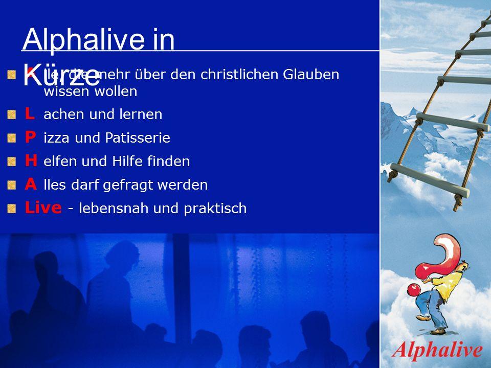 Themen Alphalive - Party ÊWer ist Jesus.ËWarum starb Jesus.