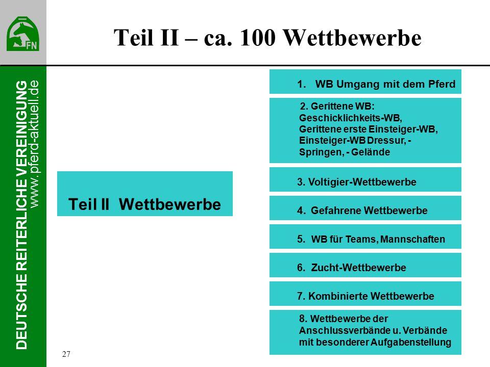 www.pferd-aktuell.de DEUTSCHE REITERLICHE VEREINIGUNG Teil II – ca.