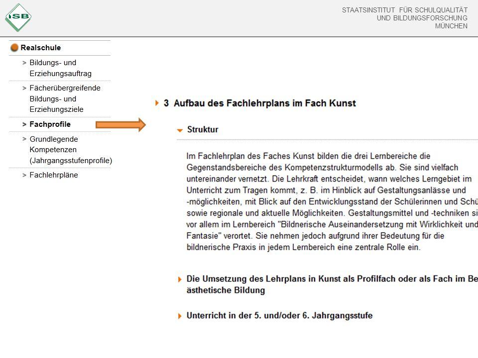 STAATSINSTITUT FÜR SCHULQUALITÄT UND BILDUNGSFORSCHUNG MÜNCHEN