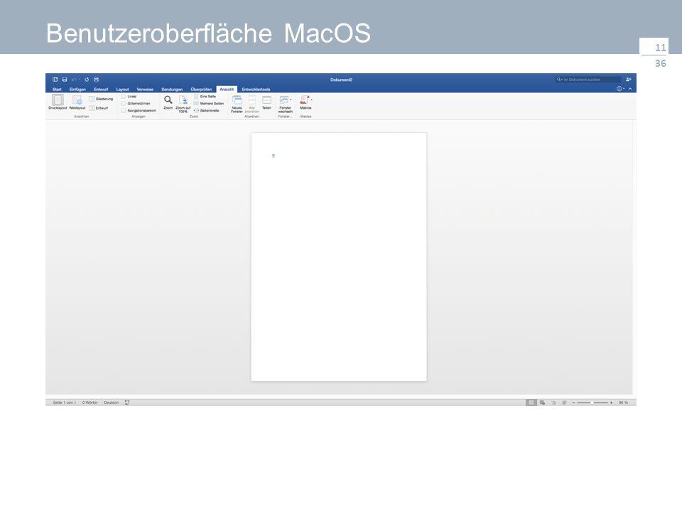 36 Benutzeroberfläche MacOS 11