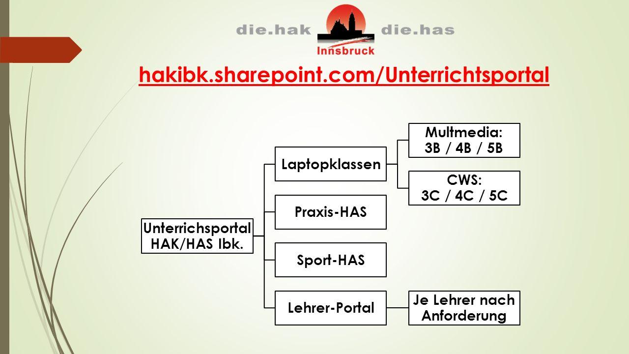 hakibk.sharepoint.com/Unterrichtsportal Unterrichsportal HAK/HAS Ibk.