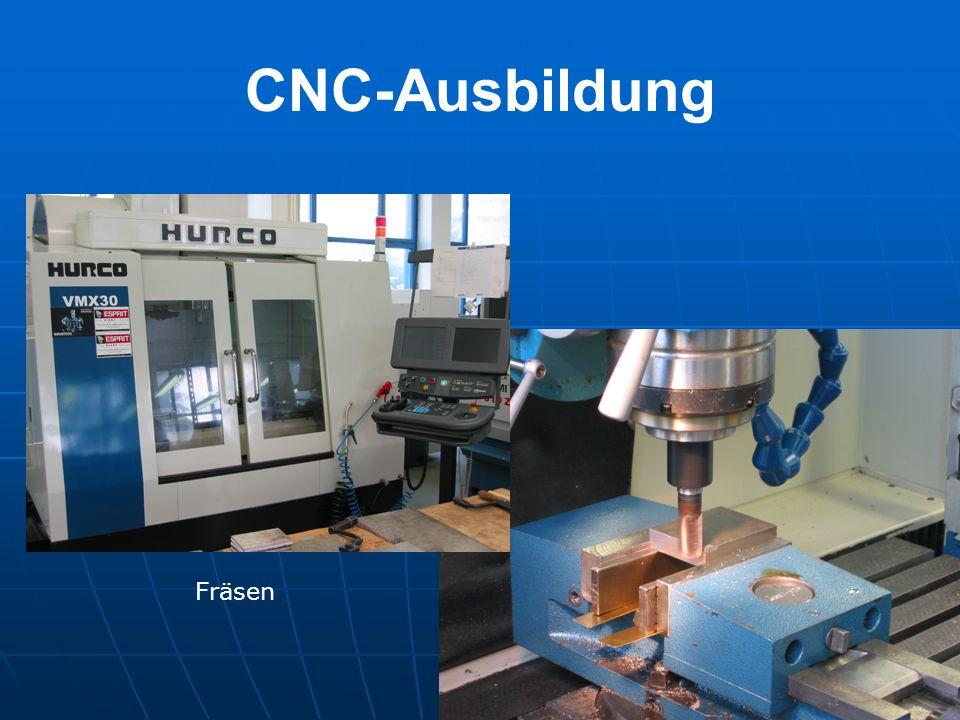 CNC-Ausbildung Fräsen