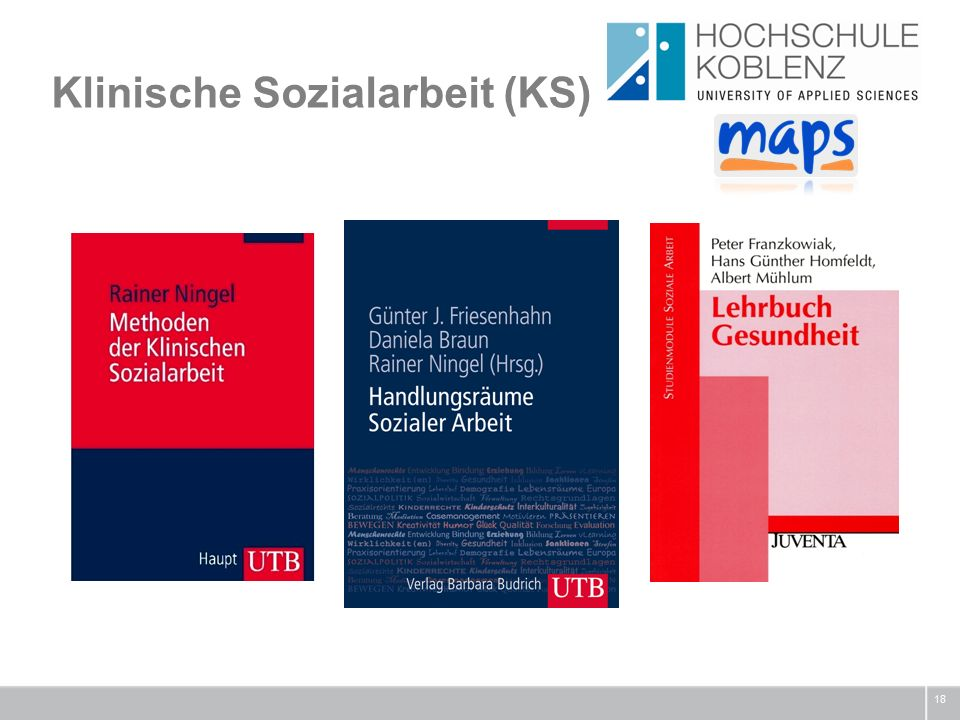 Klinische Sozialarbeit (KS) 18