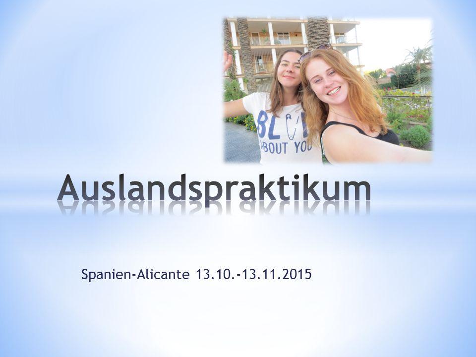 Spanien-Alicante 13.10.-13.11.2015