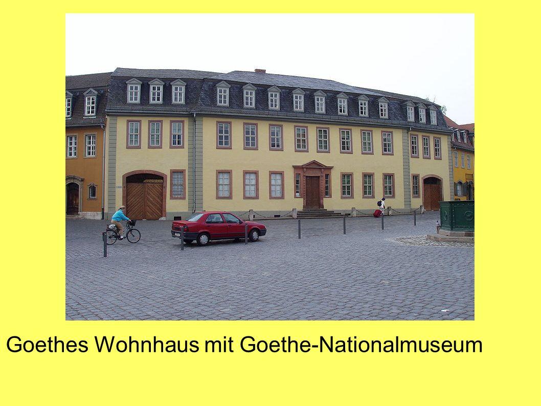 Goethes Wohnhaus mit Goethe-Nationalmuseum