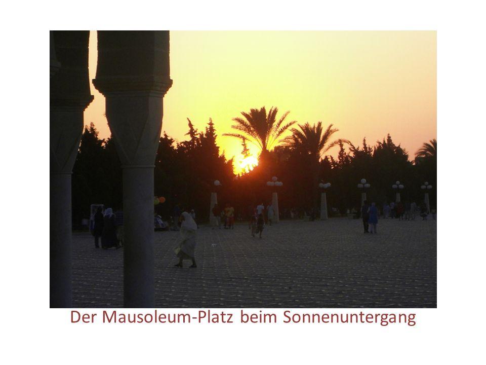 Das Bourguiba-Mausoleum