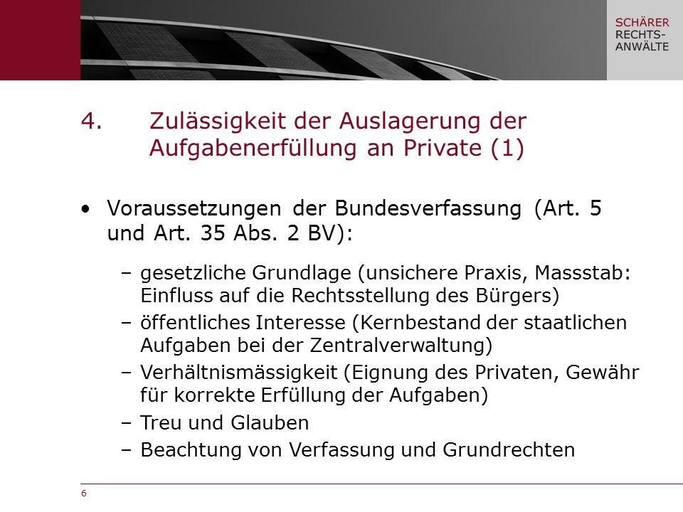 7 Voraussetzungen der Kantonsverfassung (Art.93 Abs.