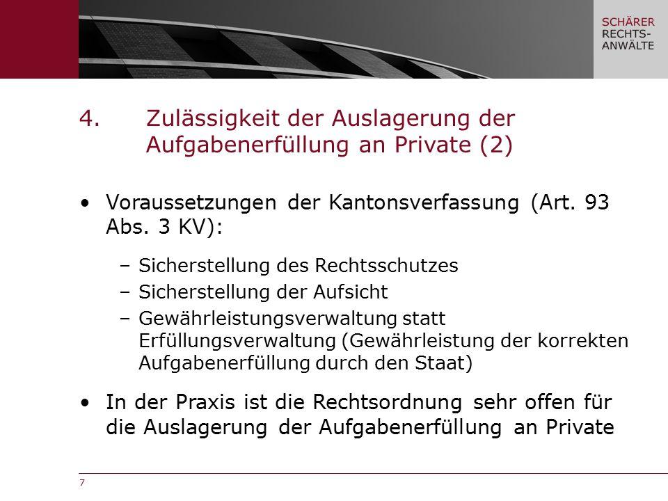 7 Voraussetzungen der Kantonsverfassung (Art. 93 Abs.