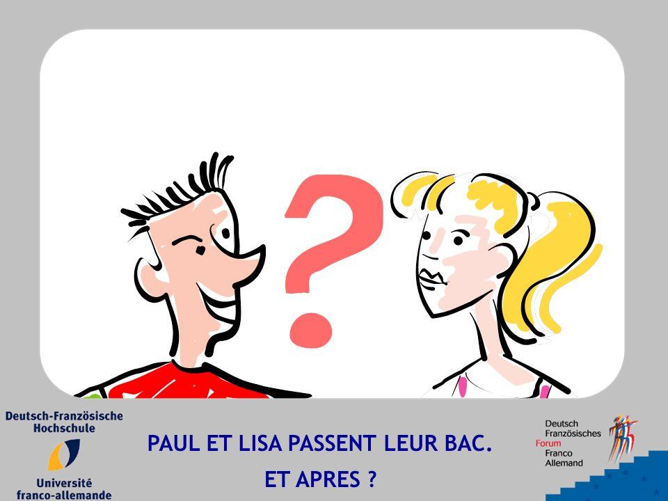 PAUL ET LISA PASSENT LEUR BAC. ET APRES