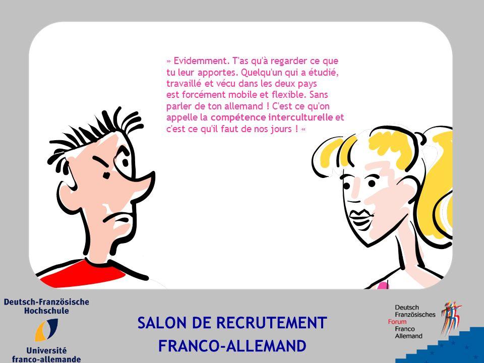 SALON DE RECRUTEMENT FRANCO-ALLEMAND » Evidemment.