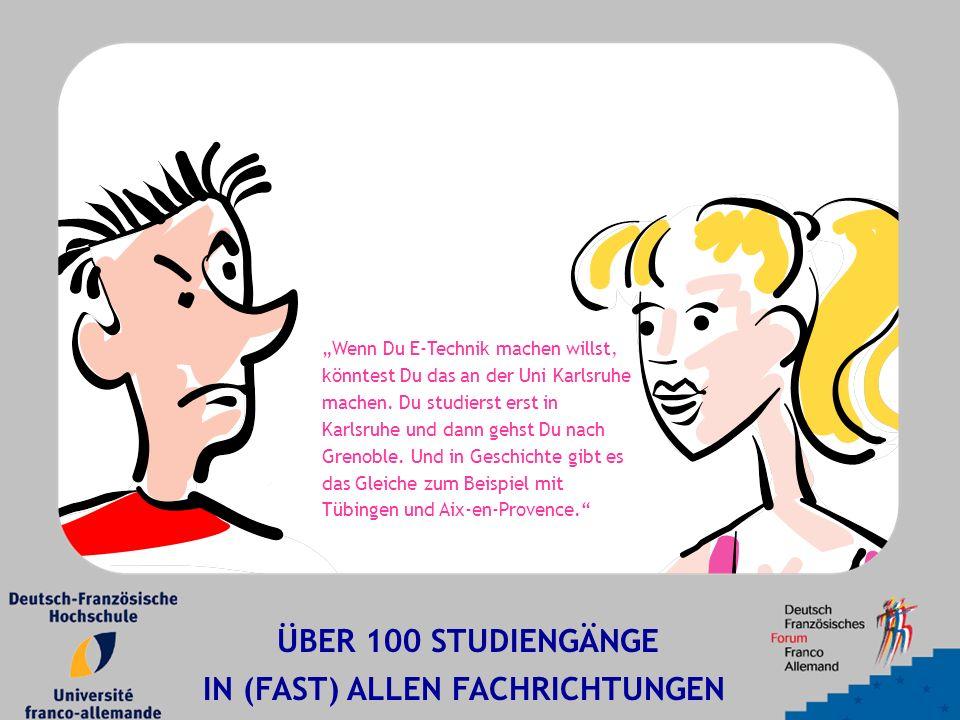 """""""Wenn Du E-Technik machen willst, könntest Du das an der Uni Karlsruhe machen."""