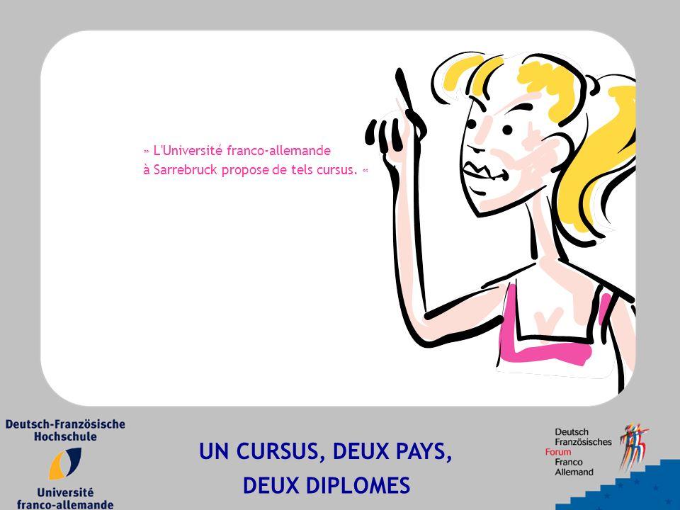 » L Université franco-allemande à Sarrebruck propose de tels cursus.