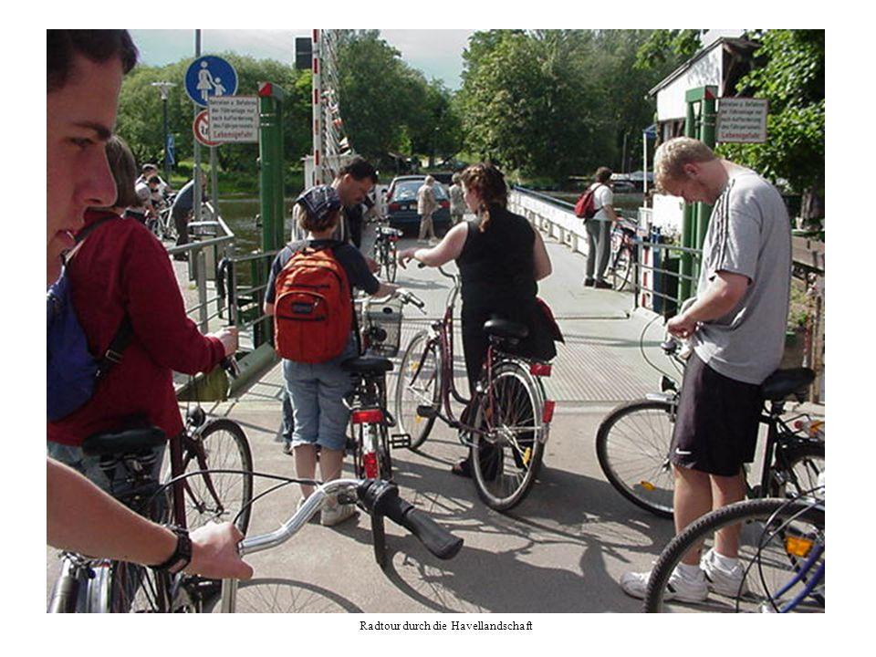 Radtour durch die Havellandschaft