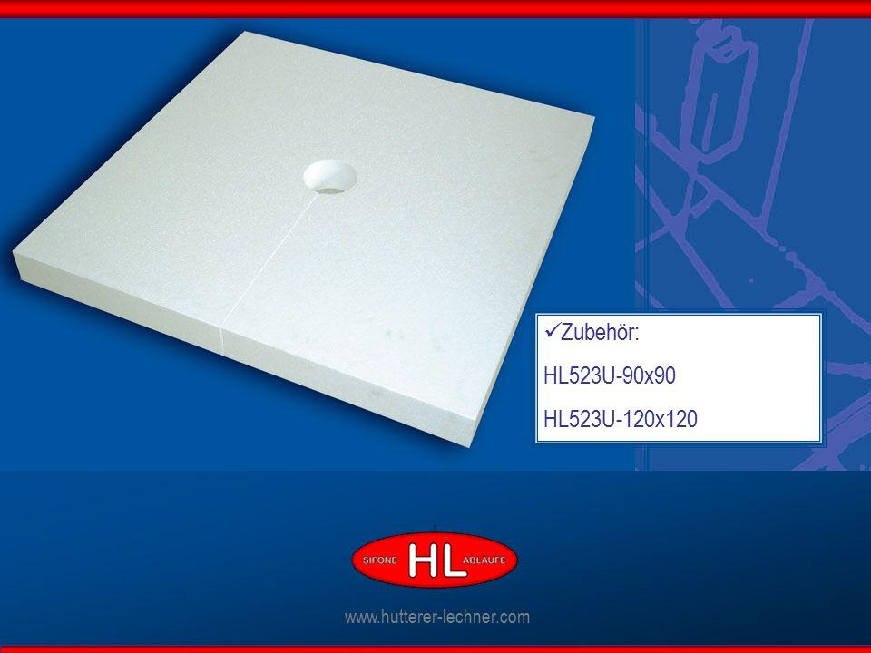 Zubehör: HL523U-90x90 HL523U-120x120